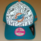 New Era Hat Cap NFL Football Miami Dolphins 9forty 2014 Draft Ladies Women OSFM