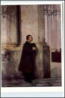 "Künstlerkarte Robert STERL ""In der katholischen Hofkirche"" Kirche VEB Seemann"
