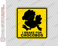 Final Fantasy Chocobo (A) Car Truck SUV Vinyl Bumper Sticker