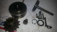 1970 Honda CT90 CT 90 Parts Lot Flywheel Fly Wheel Oil Drain Bolt Gear