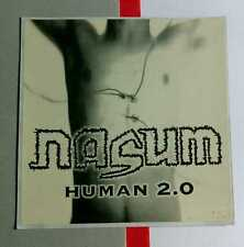 NASUM HUMAN 2.0 AMP PHOTO RELAPSE RECORDS CASE LG STICKER