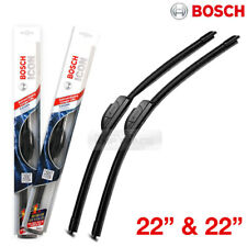 "Bosch Icon 22"" & 22"" INCH Windshield Wiper Blades J-HOOK 2p All Season Car Front"
