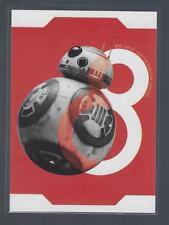 2017 Star Wars The Last Jedi Series One Resist!  #R4  BB-8  ASTROMECH DROID