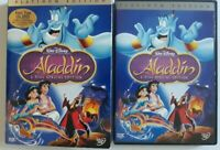 walt Disney pictures presents Aladdin platinum Edition DVD widescreen version