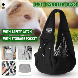 Hands Free Slings Pet Carrier Outdoor Dog Cat Puppy Travel Tote Shoulder Bag .