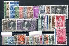 VATIKAN 1929-1949 gestempelt gute Sätze und Marken 480€(A9367