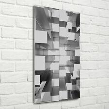 Wand-Bild Kunstdruck aus Acryl-Glas Hochformat 70x140 Abstraktes