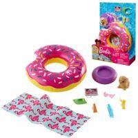 Strand Spielset mit Schwimmring   Barbie   Mattel FXG38   Accessoires Pool