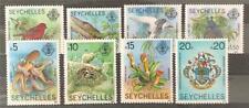 More details for seychelles. flora & fauna stamp set. sg487/94. 1981. mnh.  #ts67
