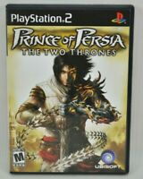Prince of Persia: The Two Thrones (Sony PlayStation 2, 2005) Video Game