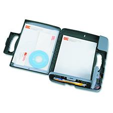 Officemate Portable Clipboard Storage Case, Charcoal 83301