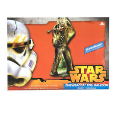 Star Wars Party Supplies Chewbacca Foil XL Helium Balloon Super Shape Birthday