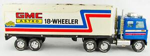 "Vintage 1970s Nylint 910 Cadet GMC Astro 21"" 18-Wheeler The Rig- Tractor Trailer"