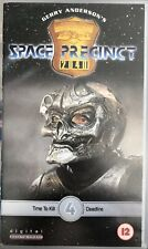 Space Precinct Time to kill Deadline VHS Video Tape Gerry Anderson Vol 4 Digital