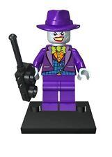 JOKER Cappello Viola 1 Mini figura UK venditore si adatta LEGO BATMAN SUPERMAN