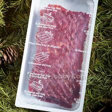 Tillamook Teriyaki Slab Sheet 15-Count Beef Jerky Snack Retail Refill Camping