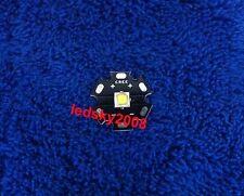 Cree XM-L2 U3 Bin 10W 3A 1260lm Cool White light LED XML2 @ 20mm Star PCB S