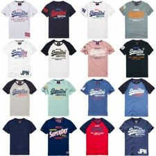 Superdry Slim Fit Cotton Blend Crew Neck T-Shirts for Men