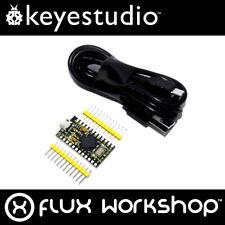 Keyestudio ATmega32u4 PRO MICRO USB (Arduino-Compatible) Flux Workshop