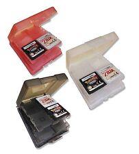 3 x 16 GAMES CARD CASE HOLDERS for NINTENDO DS 3DS DSi LITE CARTS UK Seller