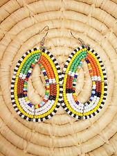 New African Maasai Earrings Masai Massai Africa S/M jemo447