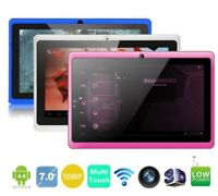 children kids Tablet A33 Quad Core 7 inch WIFI Dual Camera Google Android HD