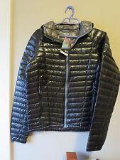 Mens New Mountain Hardwear Ghost Whisperer Down Hooded Jacket S Shark-Titanium