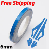 Blue Self Adhesive Car Pin Stripe Coach Line Tape Styling Stripe 6mm x 10meter