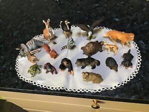 SCHLEICH assorted animals lot x 17 all in very good clean condition dog dinosaur