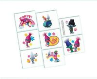 TROLLS TATTOOS BIRTHDAY PARTY SUPPLIES