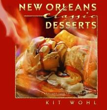 New Orleans Classic Desserts: Recipes from Favorite Restaurants-ExLibrary