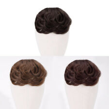 100% Hair Bangs Clip In on Curly Real Human Hair Extension Natural Hairpiece