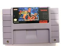 Art of Fighting Super Nintendo SNES Game - Tested & Working + Authentic!
