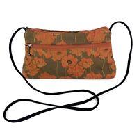Maruca Handbag Crossbody Bag Floral Shoulder Bag Purse Made In USA