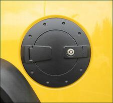 Predator Motorsports Hummer H2 Black Locking Fuel Door - Billet Aluminum (Fits: Hummer)
