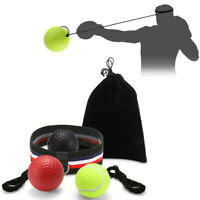 Speed Reflex Fight Ball With Head Band MMA Boxing Training Boxer Punch Exercise