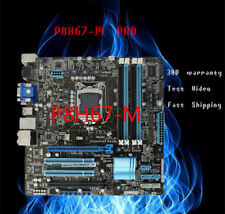 Motherboard for ASUS P8H67-M PRO/BM6650/DP-MB LGA1155 mainboard with I/O Shield