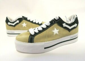 Converse MadeMe One Star Platform Lift Ox Sneaker Wood Ash Brown 563731C SZ 7.5