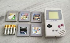 GAMEBOY HAND HELD ** Console ** 1ST VERSION in working order very clean bundle