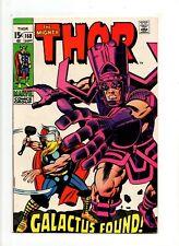 Thor #168 NM- 9.2 HIGH GRADE Marvel Comic KEY vs Galactus Silver Age 15c