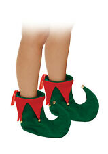 ADULT ELF BOOTS SHOES CHRISTMAS XMAS FANCY DRESS COSTUME(W00 895 )