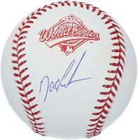 Dwight Gooden New York Yankees Autographed 1996 World Series Logo Baseball