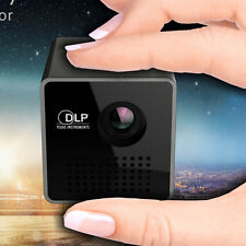 Unic Mini Led Projector Dlp Home P1 Portable 30 Lumens Micro Movie Theater New
