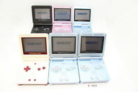 Plz Read Note! Lot 6 Nintendo GameBoy Advance SP Blue System Console GBA #3312