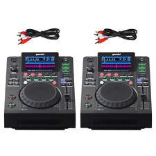 2 x Gemini MDJ-600 CD USB MP3 Media Player + DJ Software Controller + Soundcard