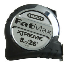 Stanley 5-33-892 FatMax Tape Measure 8m Metric Only Wide Blade 5-33-892