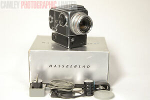 Hasselblad 500EL 80mm Planar Boxed Outfit. Complete (AKMOC). Graded: LN- [#9912]