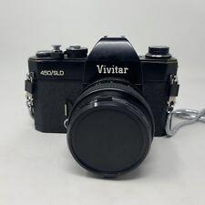 Vintage Vivitar 450 SLD 35MM SLR Camera & Lens