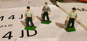 1/64 Ertl Farm Country man working - custom right handed with bucket.