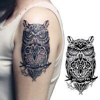 Temporary Tattoo Hand Painted Owl Tattoo Stickers Waterproof Tattoo Sticker SE